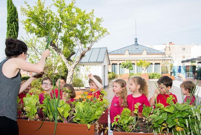 Taller 'Secretos del jardín de La Casa' en La Casa Encendida (Madrid)