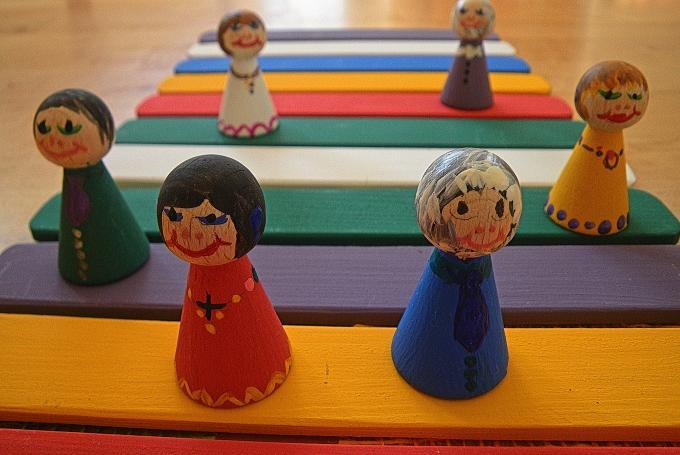 Fábrica de juguetes en La Casa Encendida (Madrid)