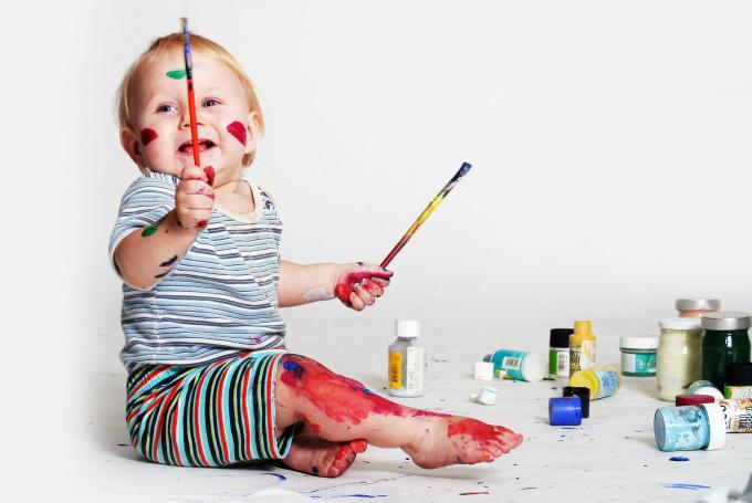 'Baby art' en Museo Guggenheim Bilbao (Bilbao)