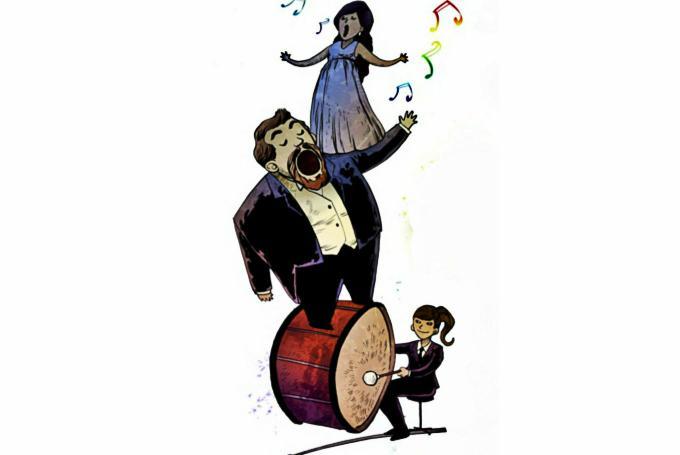 'Ópera en familia: La flauta mágica' en Palau de la Música (Valencia)