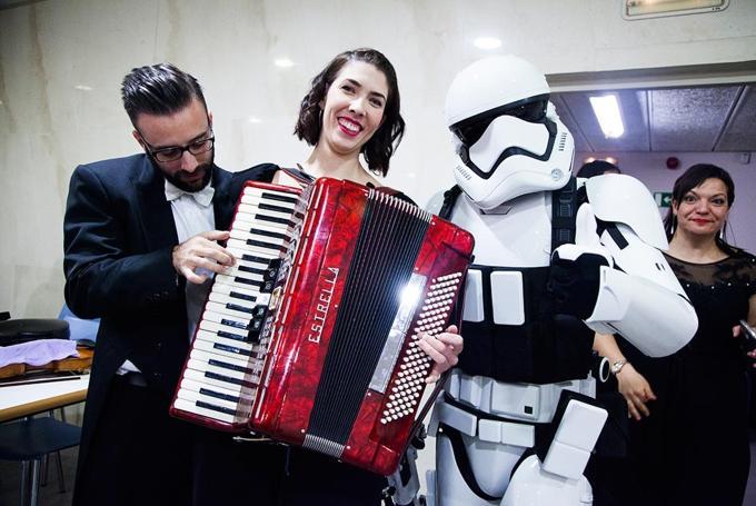 'La música de las Galaxias' en Palau de la Música (Valencia)
