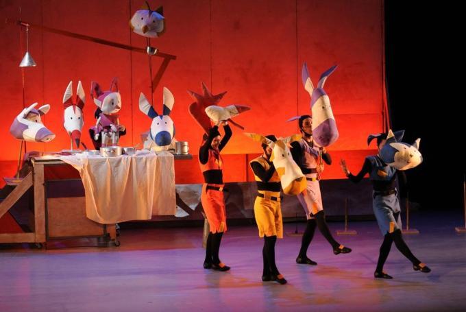'Els músics de Bremen' en Gran Teatre del Liceu (Barcelona)