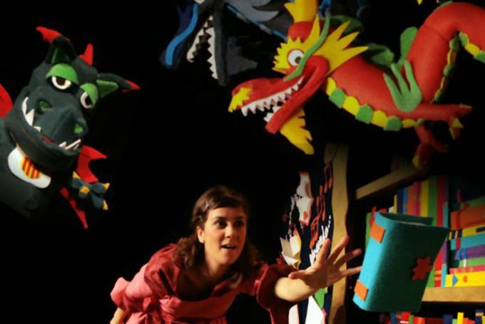 'Un món (i un munt!) de dracs' en Sant Andreu Teatre (Barcelona)