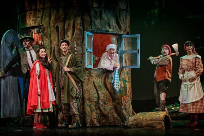 'Caperucita Roja, el musical' en Teatro Sanpol (Madrid)