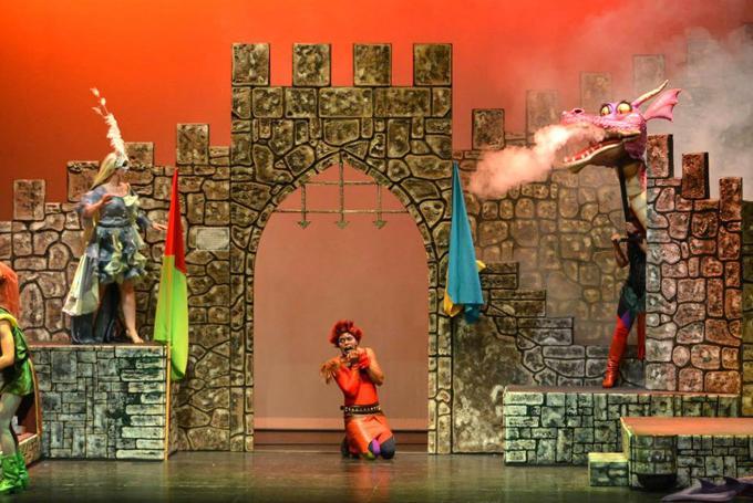 'Merlín, un musical mágico' en Teatro La Latina (Madrid)