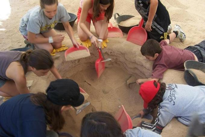 'Arqueólogos por un día' en Museo Egipcio (Barcelona)