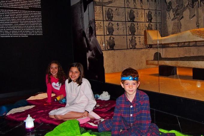 'Noche en el museo egipcio'  en Museo Egipcio (Barcelona)
