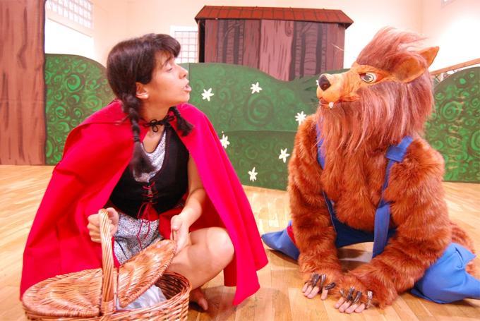 'La Caputxeta i el Llop' en Teatreneu (Barcelona)