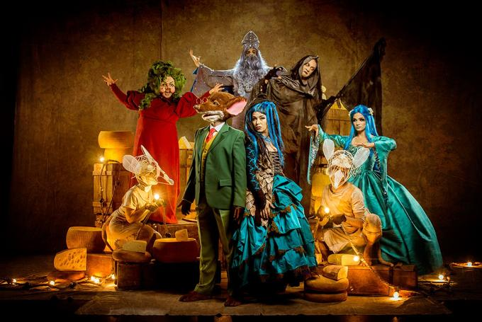 'Geronimo Stilton: Gran Retorn a Fantasia' en Teatro Condal (Barcelona)
