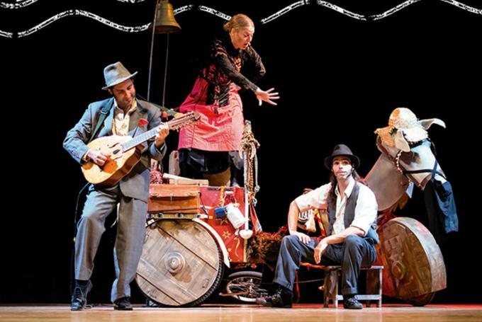'El testamiento de los Gomorro' en Teatro Arbolé (Zaragoza)