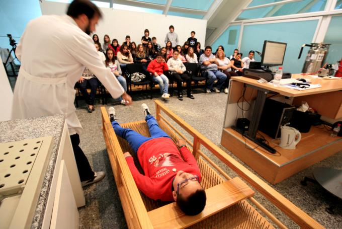 Taller 'Horror al vacío' en Ciudad de las Artes y de las Ciencias (Valencia)