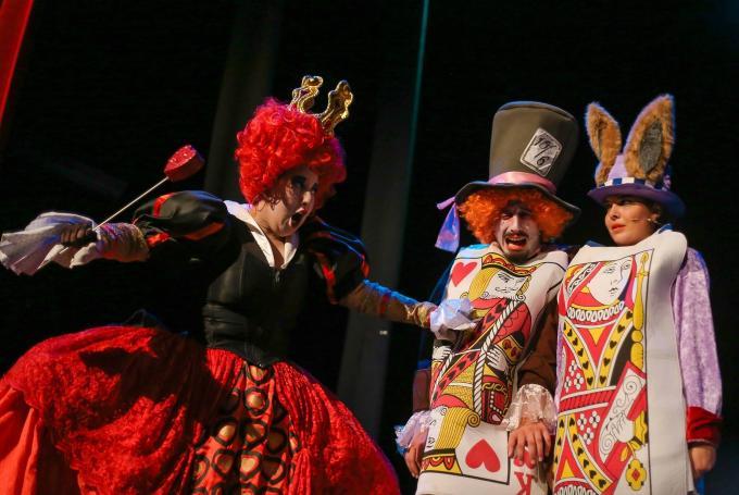 Musical 'Alicia en el País de las Maravillas' en Teatro Alameda (Málaga)