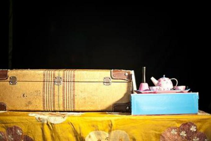 'Merienda de cuentos' en Carme Teatre (Valencia)