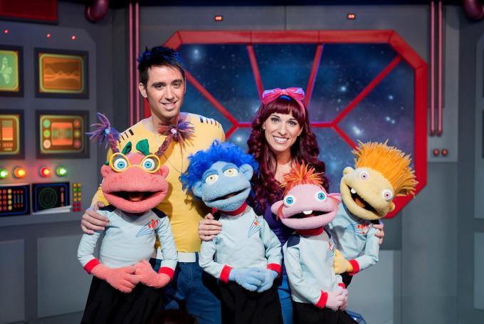 'Cohete musical' de Juan D y Beatriz con Los Lunnis en Teatro Nuevo Apolo (Madrid)