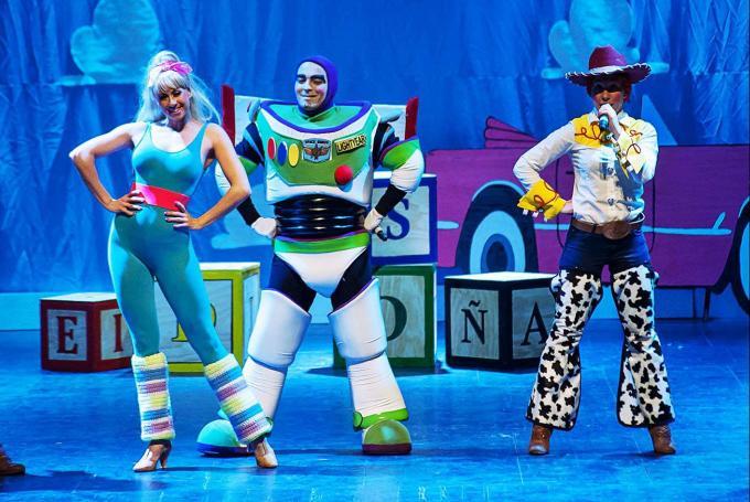 'Chachi Piruli. Toy Story' en Real Teatro de las Cortes (San Fernando )