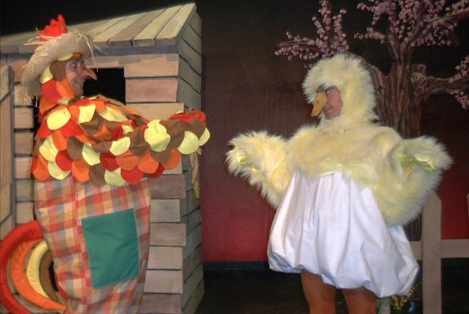'L'aneguet lleig' en Jove Teatre Regina (Barcelona)