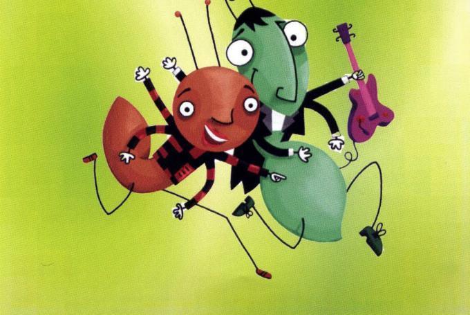 'La cigala i la formiga' en Jove Teatre Regina (Barcelona)