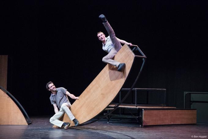 Espectáculo 'In Tarsi' en Teatro Circo Price (Madrid)