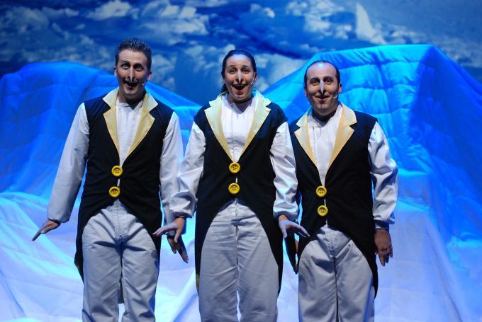 'A l'Arca a les vuit' en Teatro Romea (Barcelona)