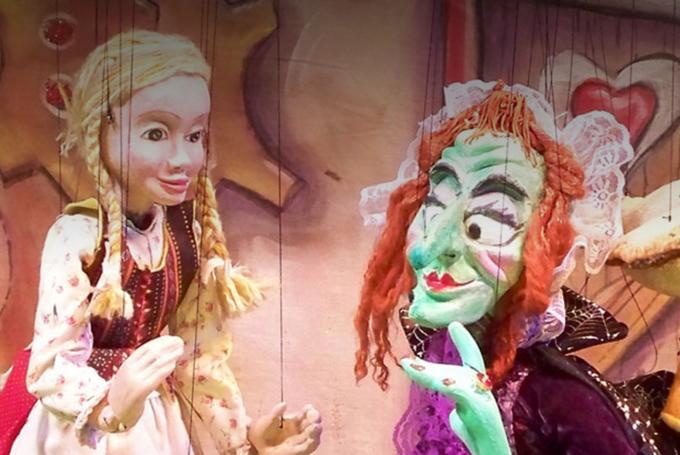 'Hansel y Gretel' en Poble Espanyol (Barcelona)