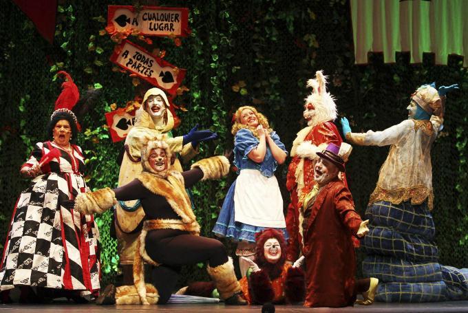 'Alicia en el País de las Maravillas, el musical' en Teatro Príncipe Gran Vía (Madrid)