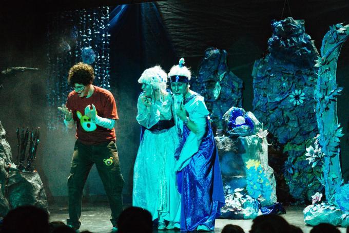 'El planeta azul' en Teatro Prosperidad (Madrid)