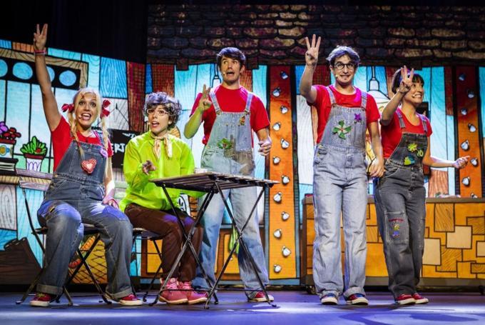 Cantajuego con '¡Viva mi planeta!' en Teatro Buero Vallejo (Guadalajara)