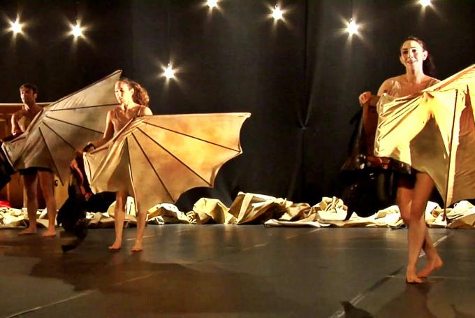 'Vuelos' en Teatro Cuyás (Las Palmas de Gran Canaria)