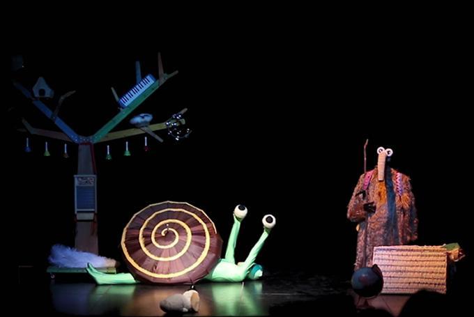 'Horacio y la montaña azul' en Teatro Echegaray (Málaga)