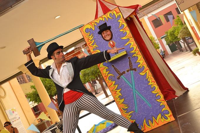 'Capitán y Peperonni en: el circo ambulante' en Teatro Echegaray (Málaga)