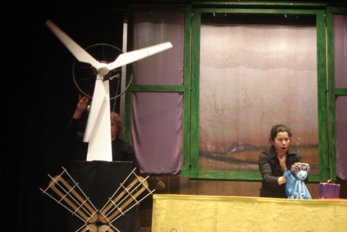 'El Viento pequeño' en Teatro Echegaray (Málaga)