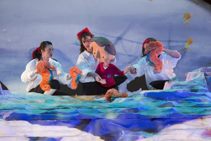 'Namor, el niño pez' en Teatro Cánovas (Málaga)