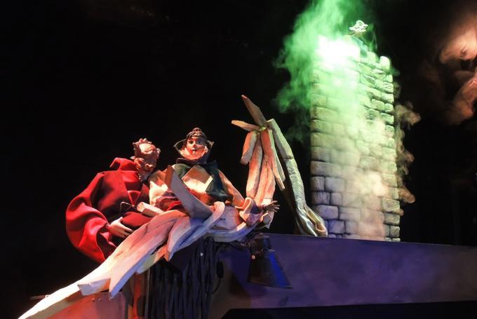 'El rincón de los títeres' en Teatro Cánovas (Málaga)