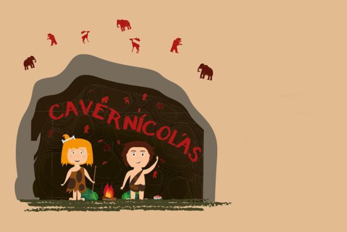'Cavernícolas. Descubre nuestro mundo' en Centro Comercial Augusta (Zaragoza)
