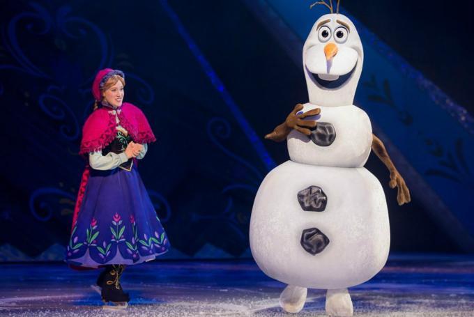 'Disney on ice: Frozen' en Palau Sant Jordi (Barcelona)