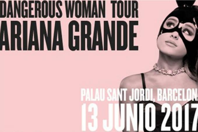 Concierto de Ariana Grande 'Dangerous Woman Tour' en Palau Sant Jordi (Barcelona)