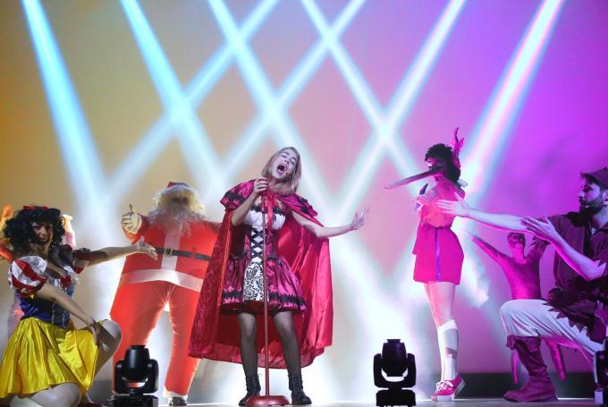 Musical 'Red Rock Caperucita' en Barts (Barcelona)