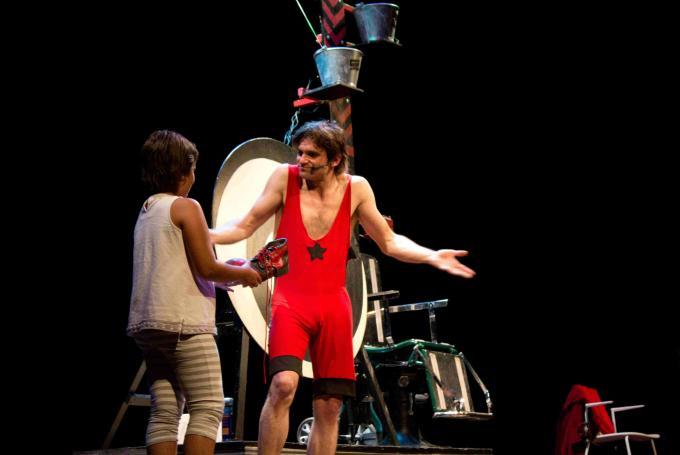 Peter Punk en 'Chungo que te cagas' en Teatro del Andamio (A Coruña)