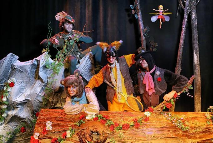 'Peter Pan, la batalla final' en Teatre Flumen (Mislata)