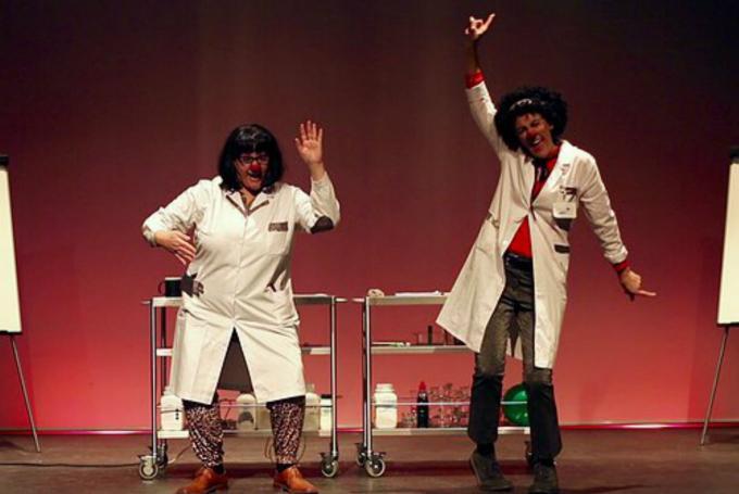 'Ciencia Club Clown' en Sala Russafa (Valencia)