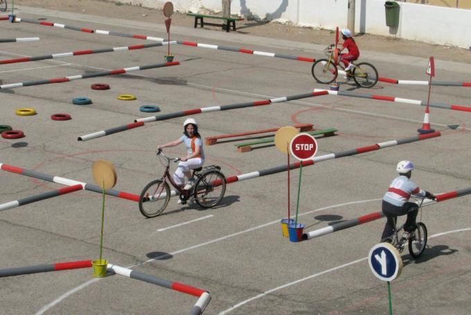 'Escuela urbana de bicis' en La Térmica (Málaga)