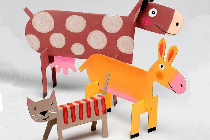 'Taller de manualidades: Animales de cartón' en Librería Baobab Huelva (Huelva)