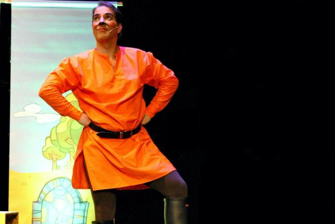 'El gato con botas' en Teatro Guiniguada (Las Palmas de Gran Canaria)