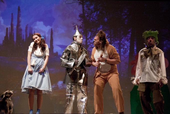 'El Mago de Oz' en Teseo Teatro (Madrid)