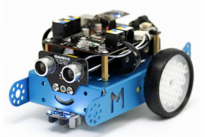 'Robótica y programación con mBot' en Droide (Valencia)