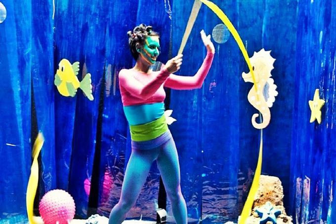 'Milonga bajo el mar' en Teatros Luchana (Madrid)