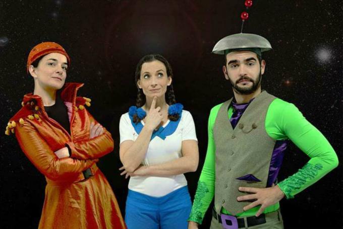 'Carlota: Odisea en el espacio' en Teatros Luchana (Madrid)