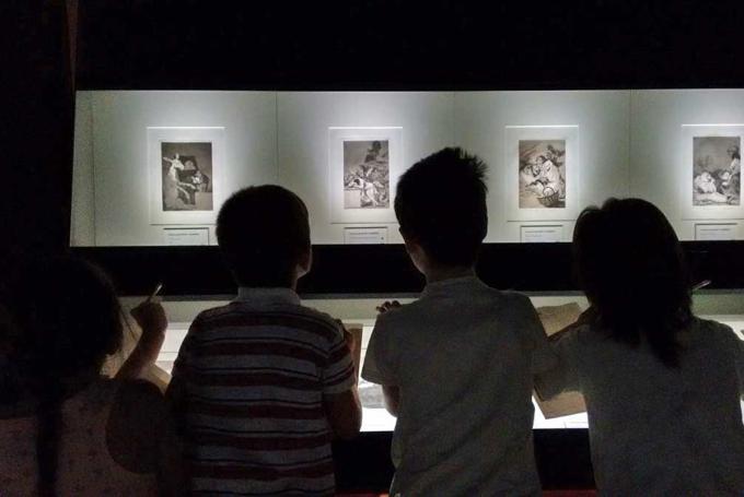 Viernes en familia en el museo en Museo Goya - Colección Ibercaja (Zaragoza)
