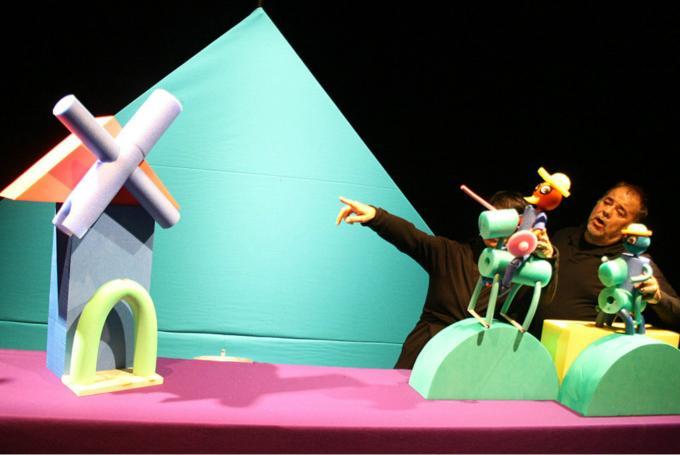 'Mi primer Quijote' en Teatro San Francisco (León)