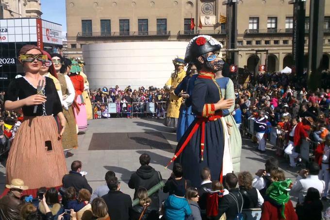 Carnaval Infantil de Zaragoza en Biblioteca Pública José Antonio Rey del Corral (Zaragoza)